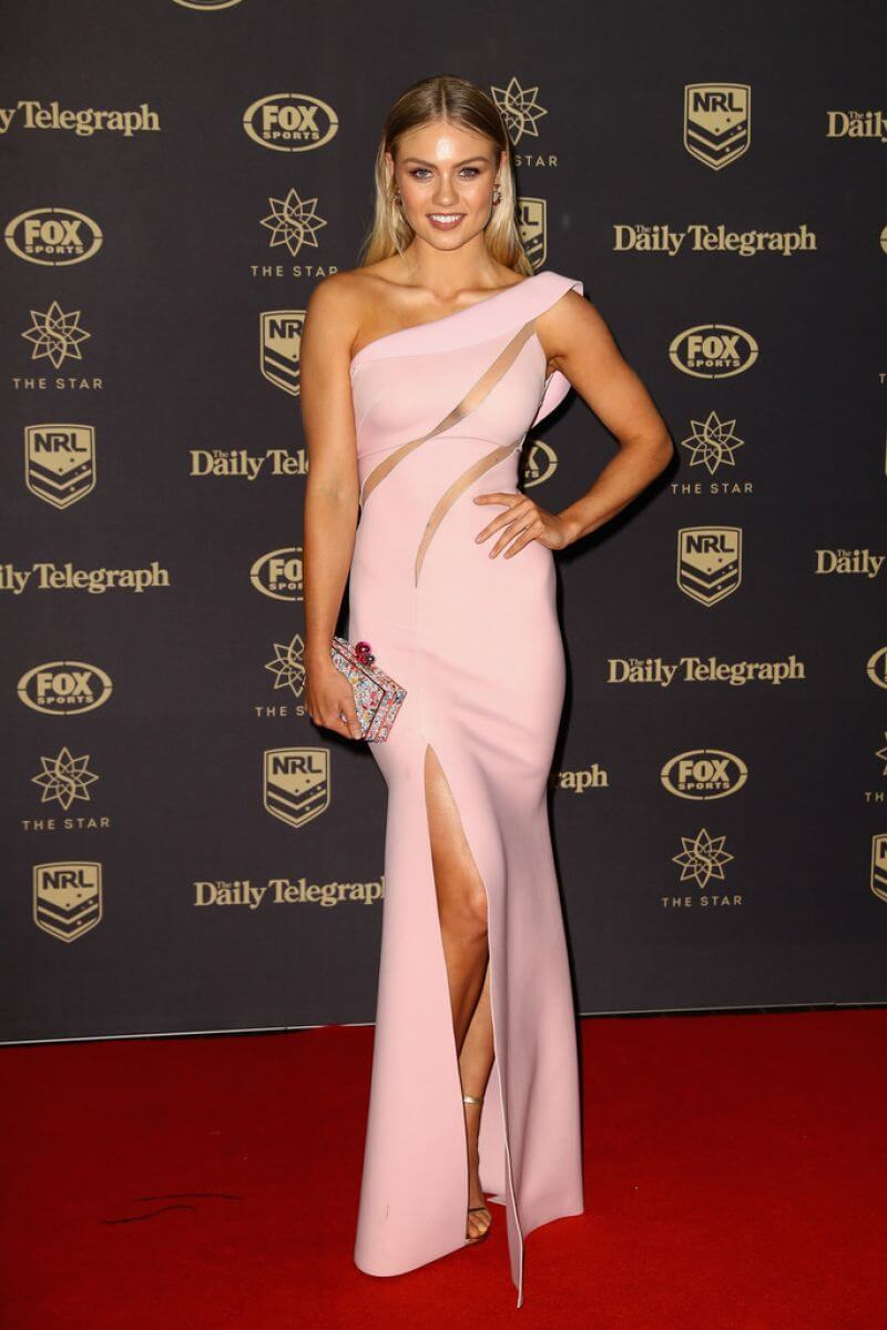 Elyse Knowles Stills at 2016 Dally M Awards in Sydney