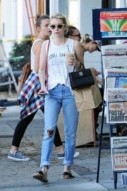Emma Roberts Stills Out and About in Los Angeles