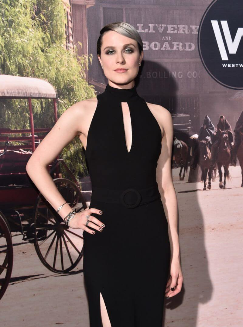 Evan Rachel Wood Stills at 'Westworld' Premiere in Hollywood