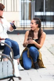 Georgia May Foote Out and About in London