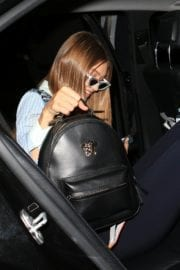 Gigi Hadid and Bella Hadid Out for Dinner in Milan