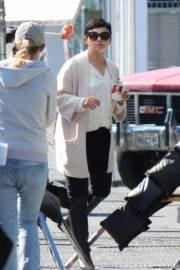 """Ginnifer Goodwin Stills on the Set of """"Once Upon A Time"""" in Vancouver"""