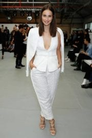 Heida Reed at Antonio Beradi Fashion Show in London Fashion Week