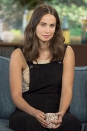 Icelandic Actress Heida Reed at This Morning TV Show in London