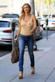 Joanna Krupa Stills Out and About in Los Angeles