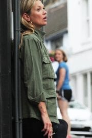 Kate Moss Out and About in London