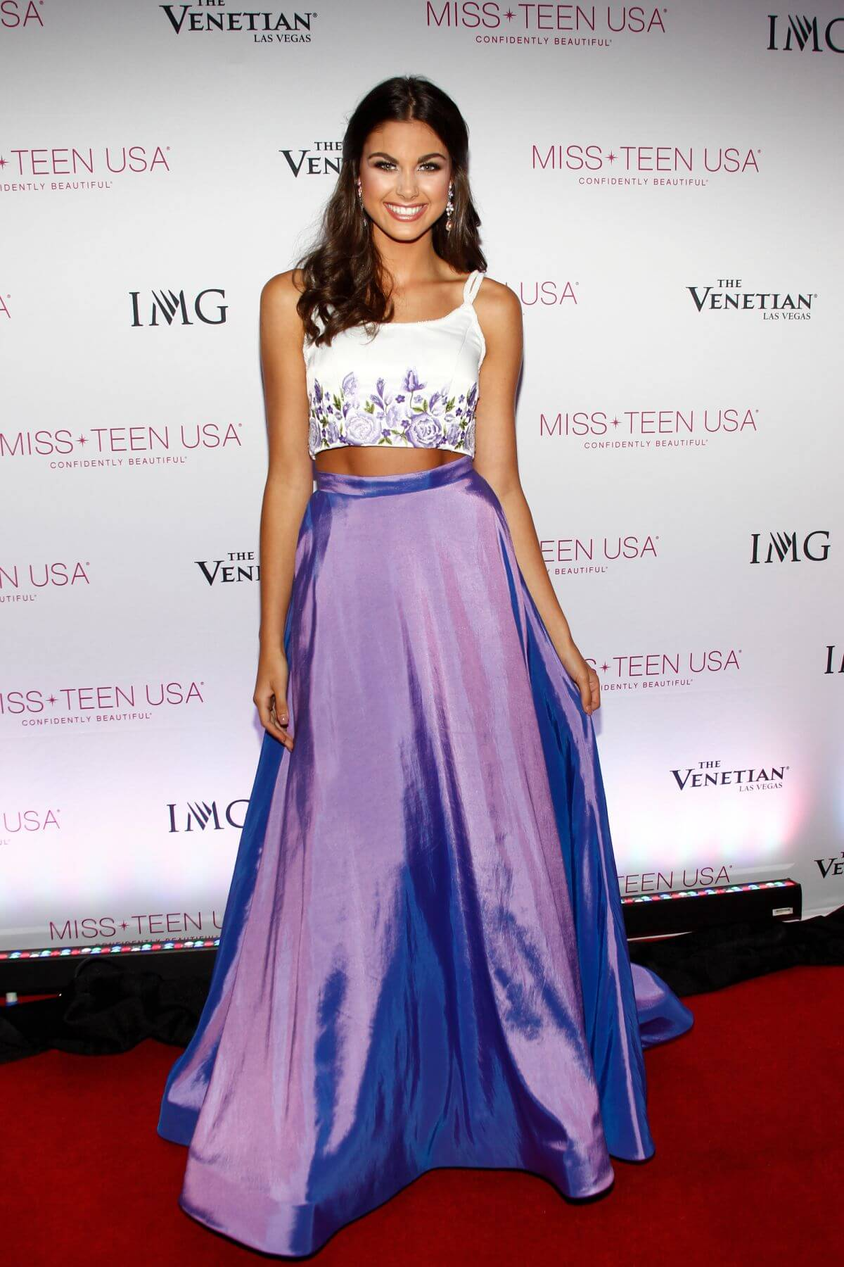 Katherine Haik at 2016 Miss Teen USA Competition in Las Angeles