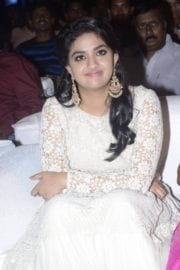 Keerthy Suresh at Rail Movie Audio Launch