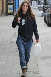 Keira Knightley Stills Out and About in London