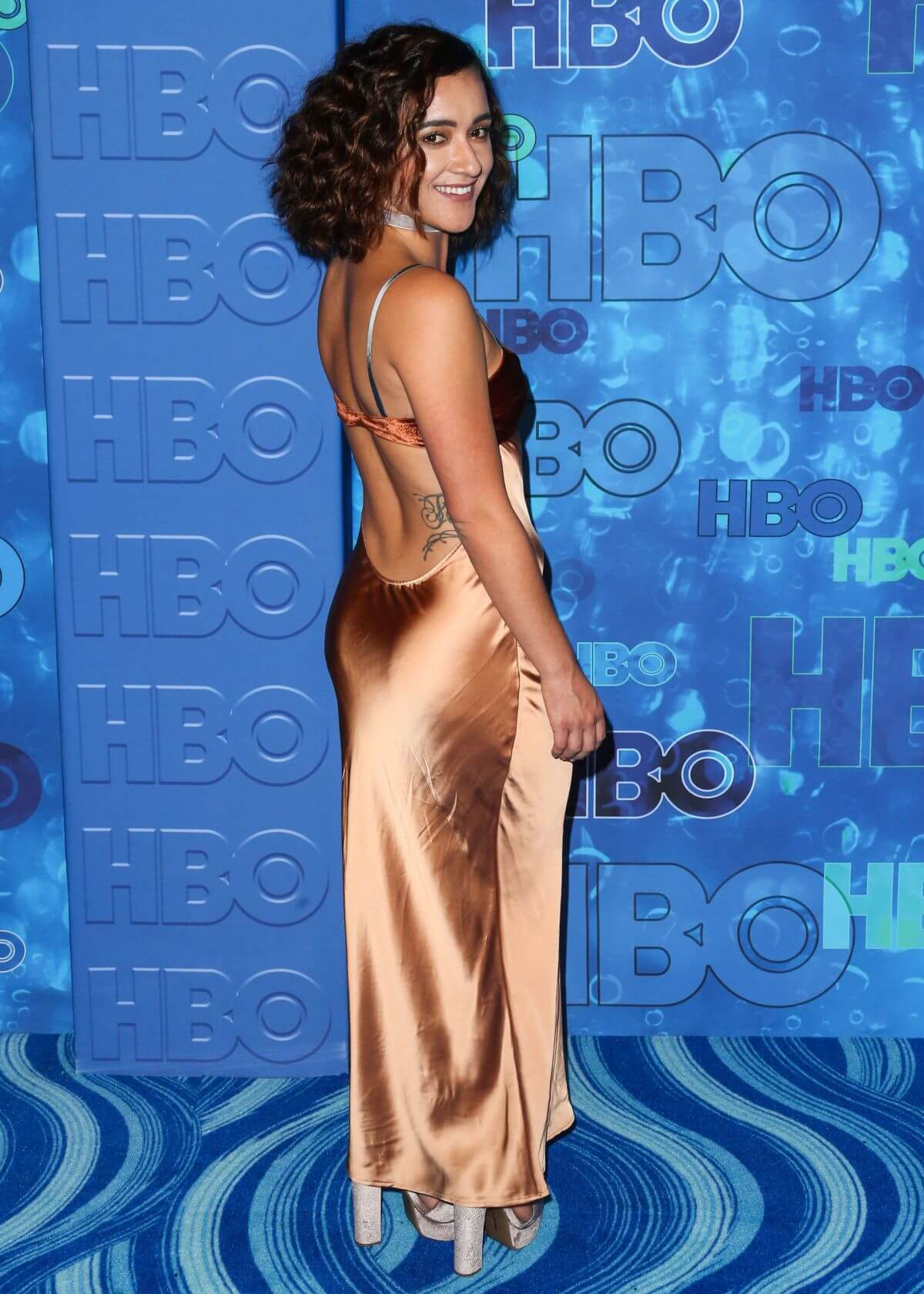 Keisha Castle-Hughes at 68th Annual Primetime Emmy Awards in Los Angeles