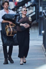 Kelly Osbourne Out with Her Dog in New York - 15/09/2016