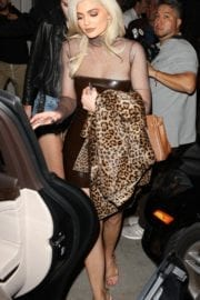Kendall Jenner and Kylie Jenner at Catch Restaurant in West Hollywood