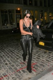 Kendall Jenner at Mr Chow in New York Photos