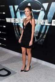 Lili Simmons Stills at 'Westworld' Premiere in Hollywood