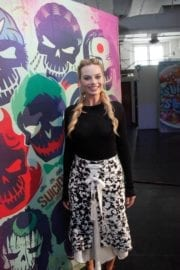 Margot Robbie at 'Suicide Squad' Premiere in New York
