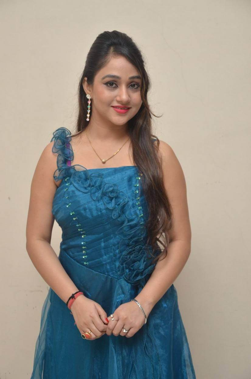 Nitika Sharma at Brahmand Nayak Sai Baba Movie Press Meet Photos