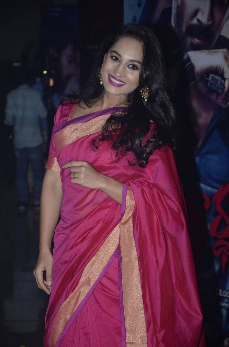 Pooja Ramachandran at Siddhartha Movie Audio Launch Photos