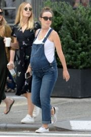 Pregnant Olivia Wilde Stills Out and About in New York