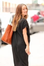 Pregnant Olivia Wilde Stills Out in New York