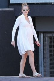 Pregnant Teresa Palmer Stills Out in Los Angeles