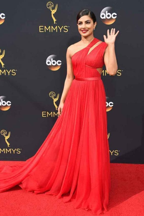 Priyanka Chopra at Emmy Awards 2016 Photos