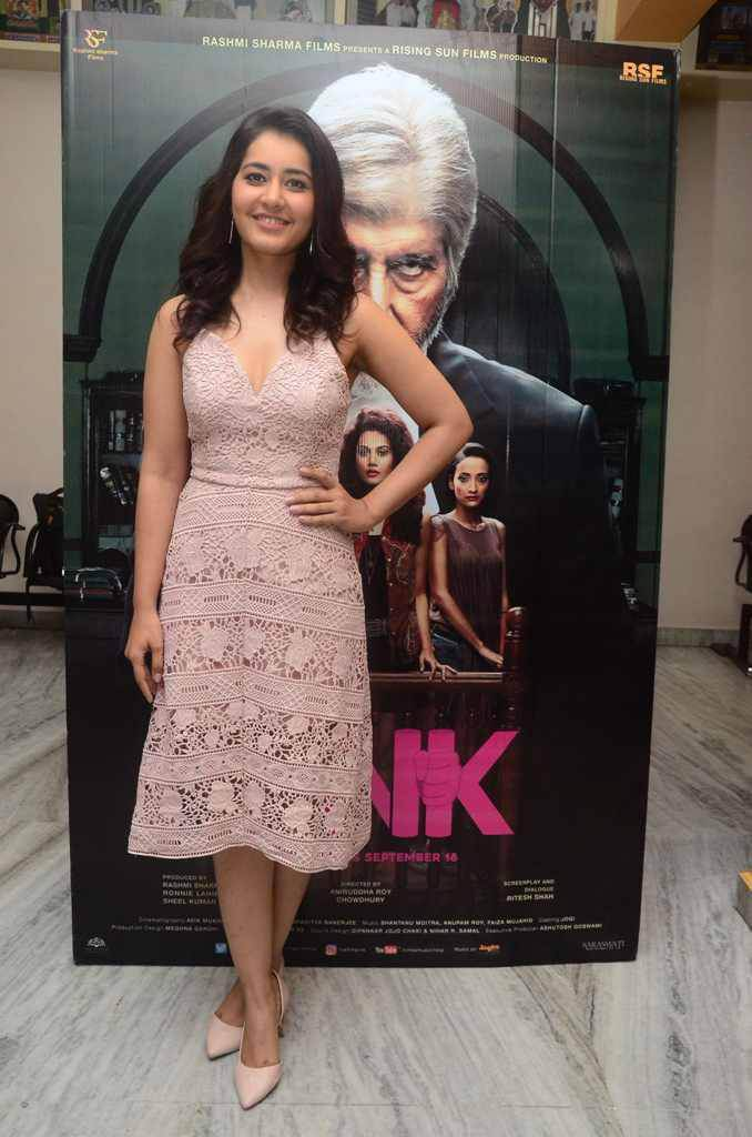 Raashi Khanna at Pink Movie Premier Show Photos