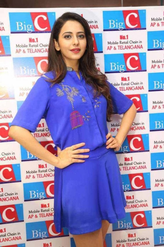 Rakul Preet Singh at Big C New Brand Ambassador Event Photos