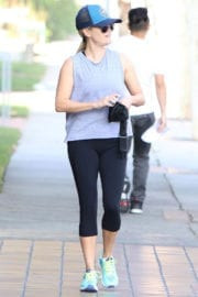Reese Witherspoon Out and About in Brentwood