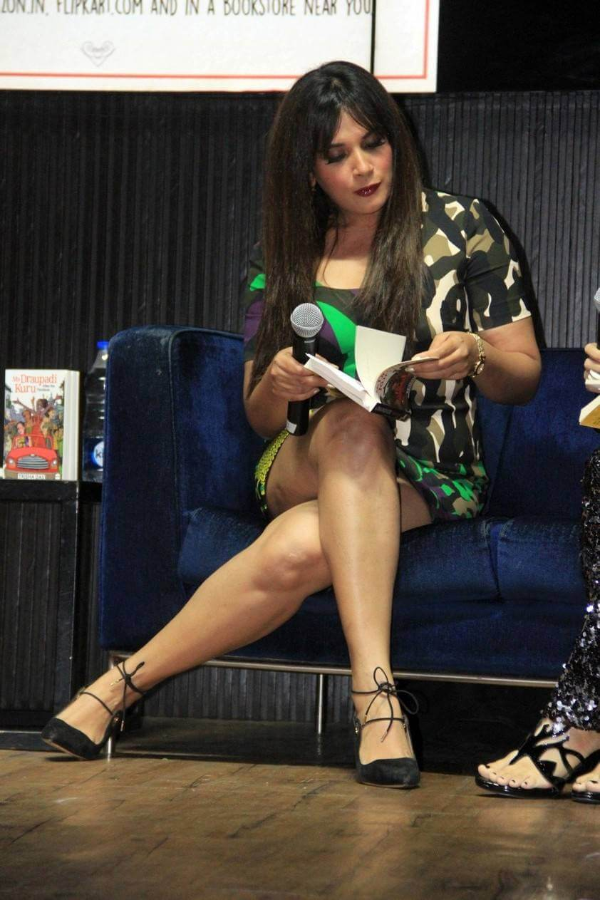 Richa Chadda at Mrs Draupadi Karu Book Launch Pics