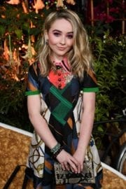 Sabrina Carpenter Stills Teen Vogue Young Hollywood Party in Los Angeles