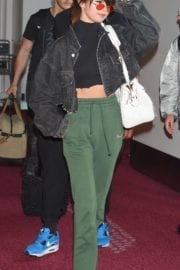 Selena Gomez Spotted at Tokyo International Airport
