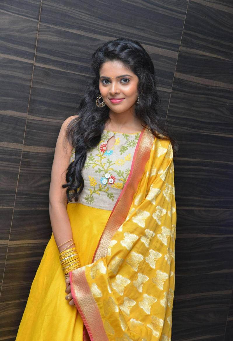 Shravya Stills At Nandini Nursing Home Audio Launch