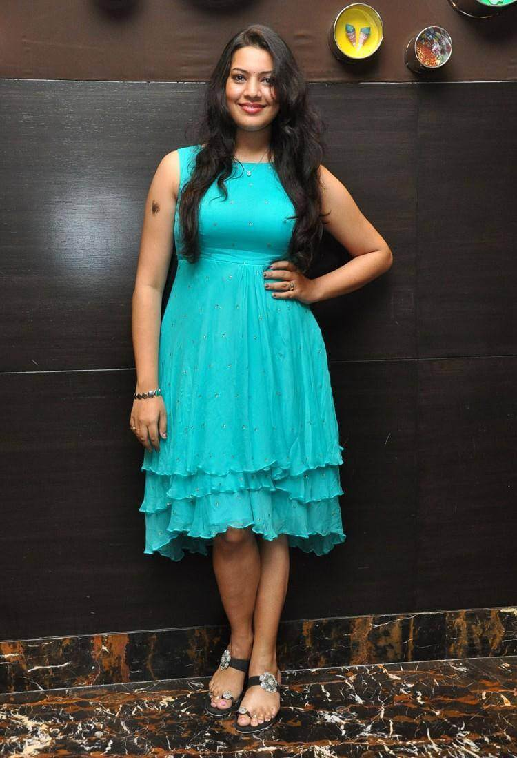 Singer Geetha Madhuri at Abhinetri Audio Launch Photos