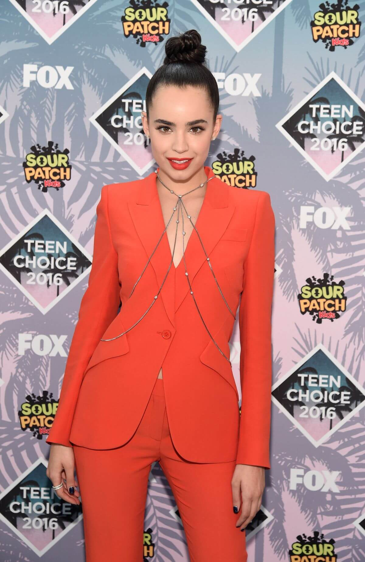 Sofia Carson at Teen Choice Awards 2016 in Inglewood