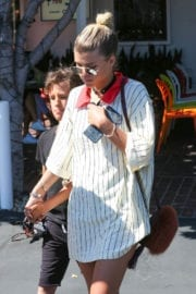 Sofia Richie Leaving Mauro's Restaurant in West Hollywood