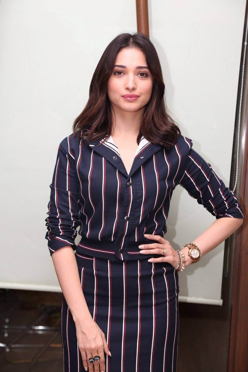 Tamannaah Bhatia Stills Tutak Tutak Tutiya Movie Interview