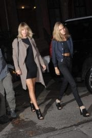 Taylor Swift and Cara Delevingne Stills Night Out in New York