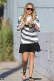 Tersea Palmer Out and About in Los Angeles