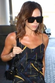 Victoria Beckham at LAX Airport in Los Angeles