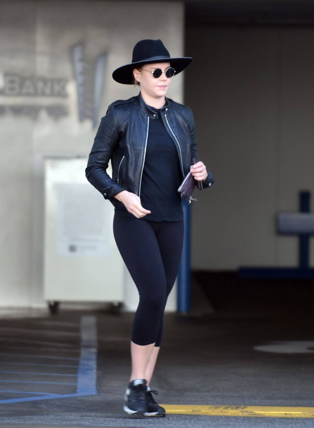 Abbie Cornish Stills Out and About in Beverly Hills Photos