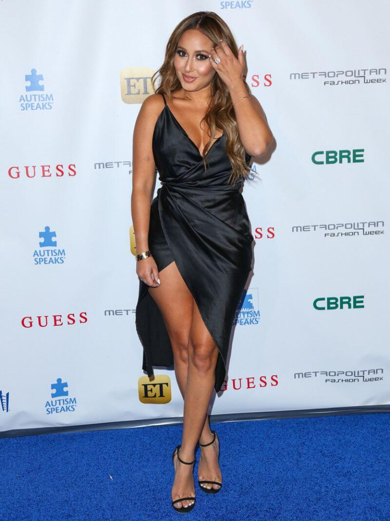 Adrienne Bailon Stills Autism Speaks La Vie En Blue Fashion Gala in Burbank