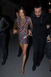 Alessandra Ambrosio at Balmain Aftershow Party in Paris