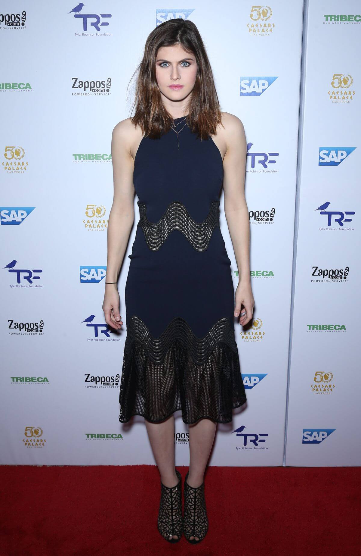 Alexandra Daddario Stills at Tyler Robinson Foundation Gala in Las Vegas