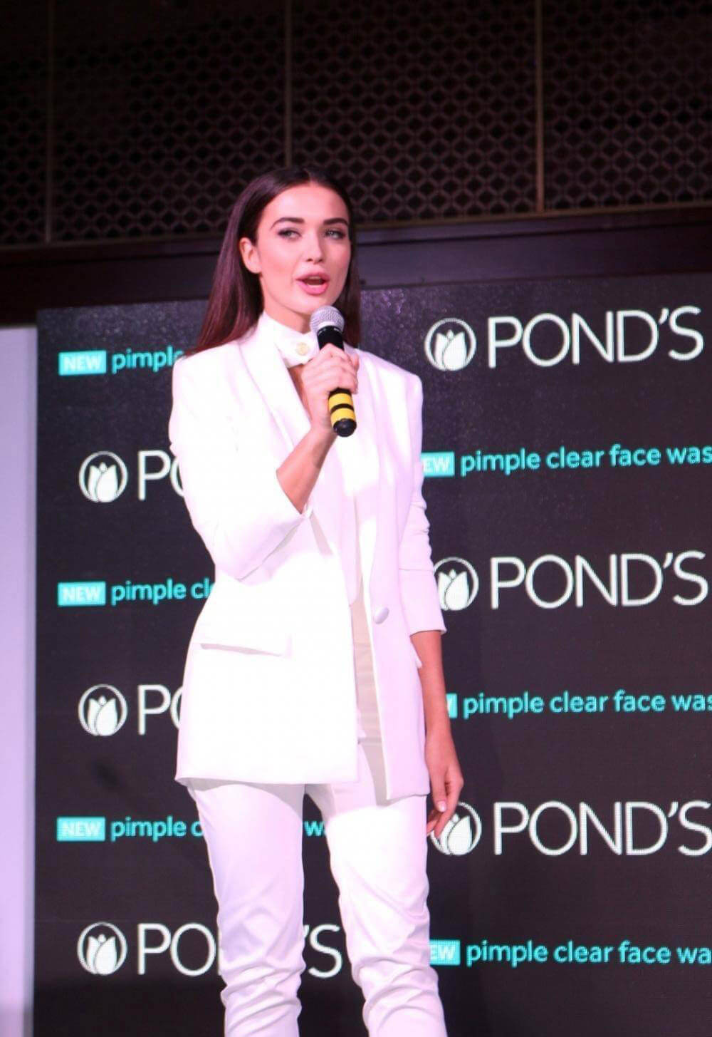 Amy Jackson at Ponds New Skincare Product Launch Photos