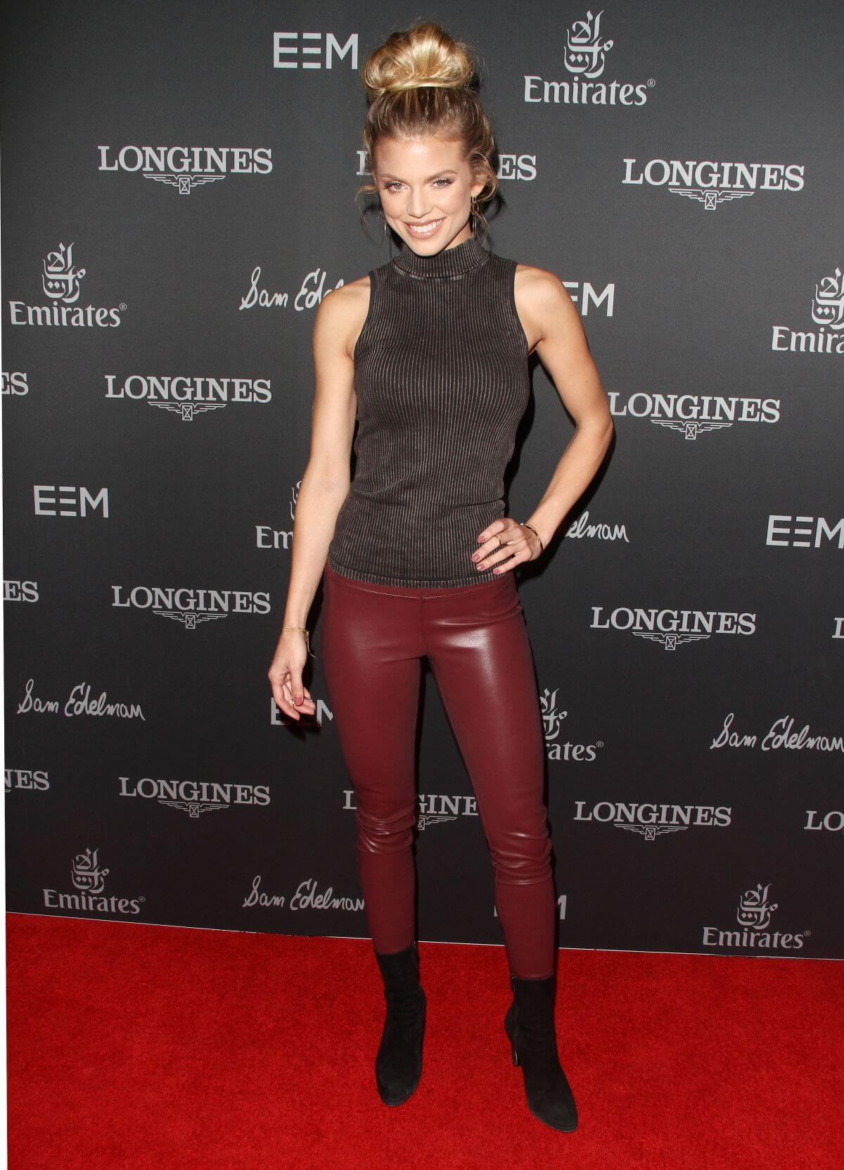 AnnaLynne McCord Stills Longines Masters of Los Angeles