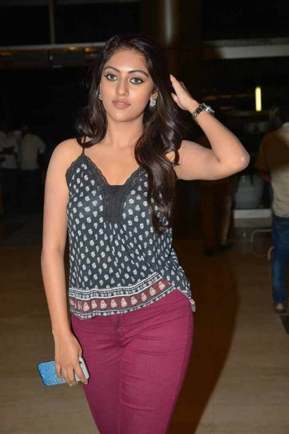 Anu Emmanuel Hot Photos at Inorbit Mall