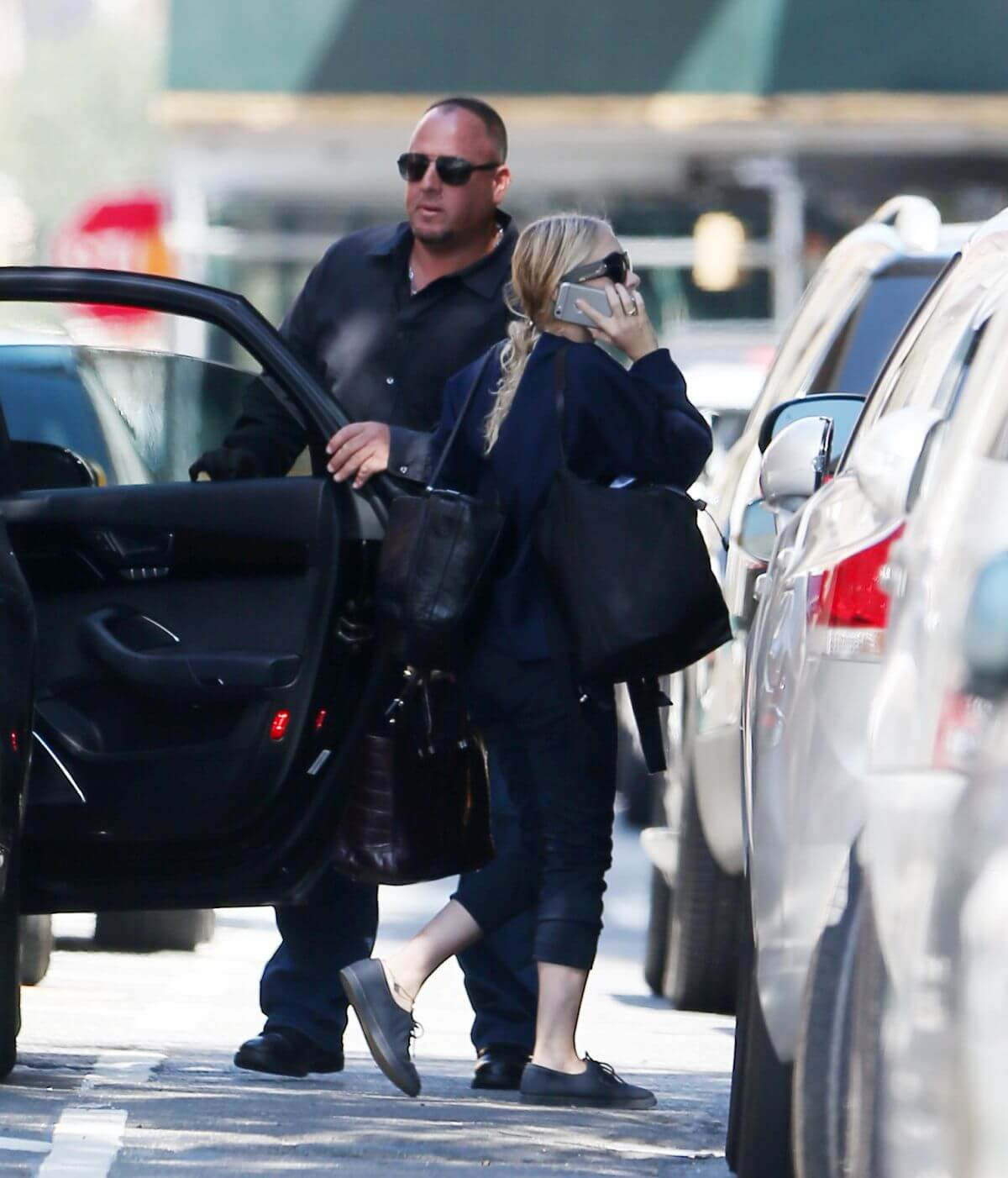 Ashley Olsen Stills Out in New York Photos