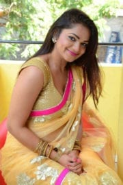 Ashwini at Telangana Film Chamber Press Meet Photos