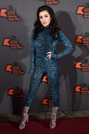 Charli XCX Stills at Kiss Haunted House Party in London