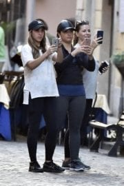 Demi Lovato Stills Out and About in Rome Photos